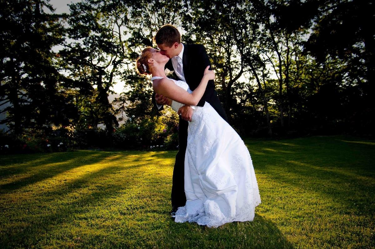 Baiser mariage