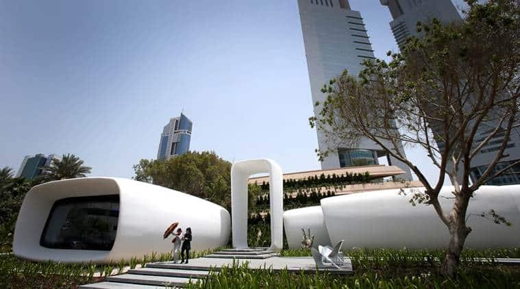 Imprimande 3D et bâtiment font bon ménage à Dubai