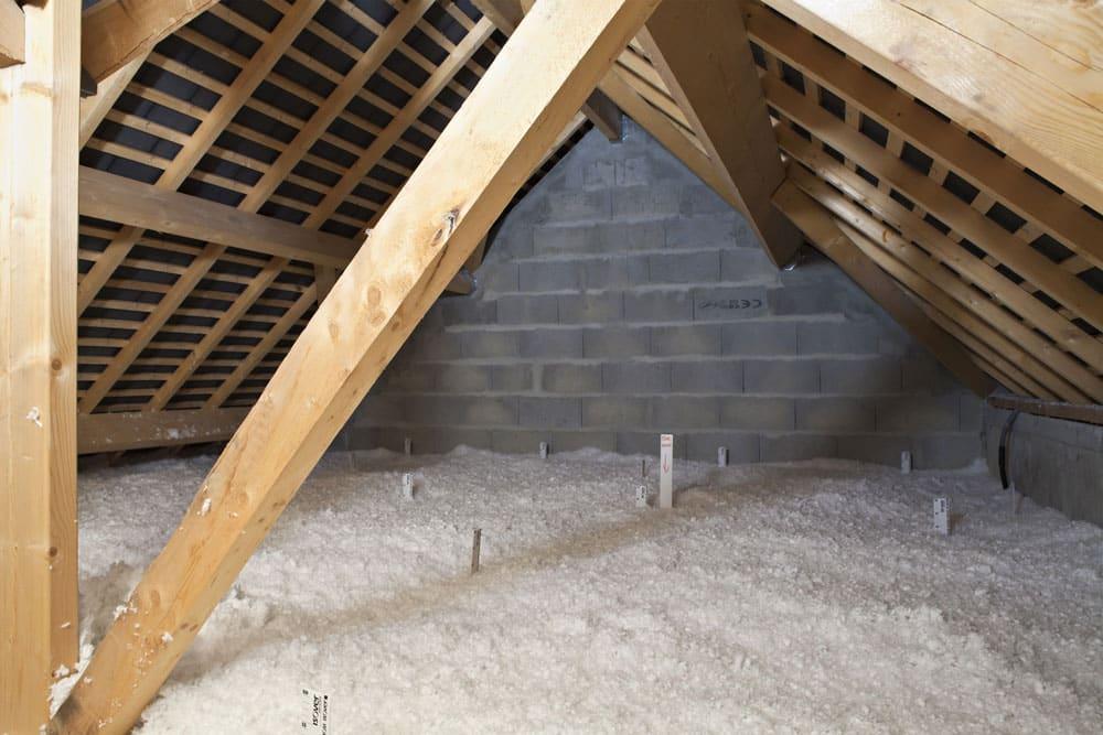 comment isoler les combles luisolant thermolin positionn sous la laine de verre pose sous. Black Bedroom Furniture Sets. Home Design Ideas