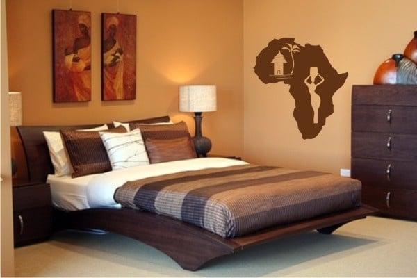 astuces pour d corer son salon l 39 africaine. Black Bedroom Furniture Sets. Home Design Ideas