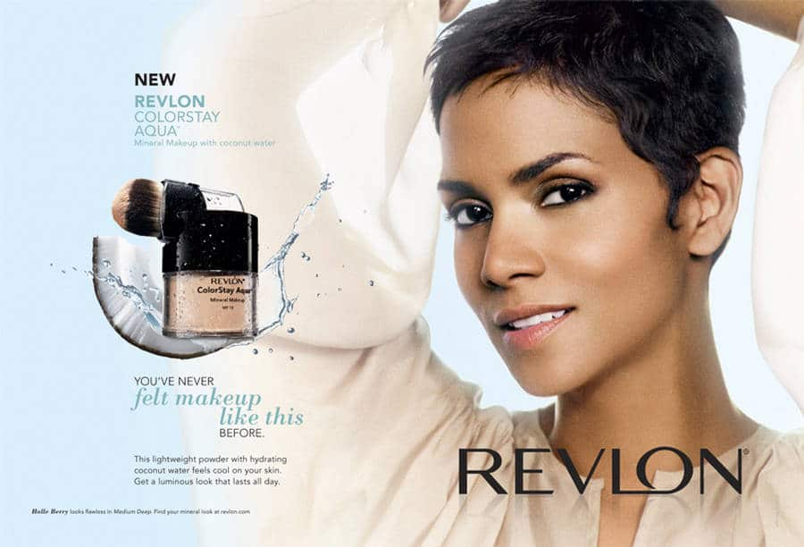 Halle Berry devient ambassadrice des produits de la marque Revlon