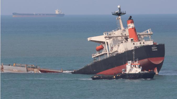 Comment les pompes Flygt ont renfloué un navire échoué en Afrique du Sud ?