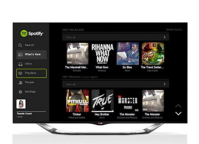 Comment télécharger spotify sur Smart TV Samsung ?