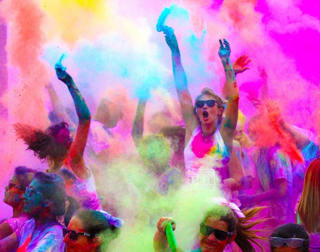 Dangers des courses couleurs