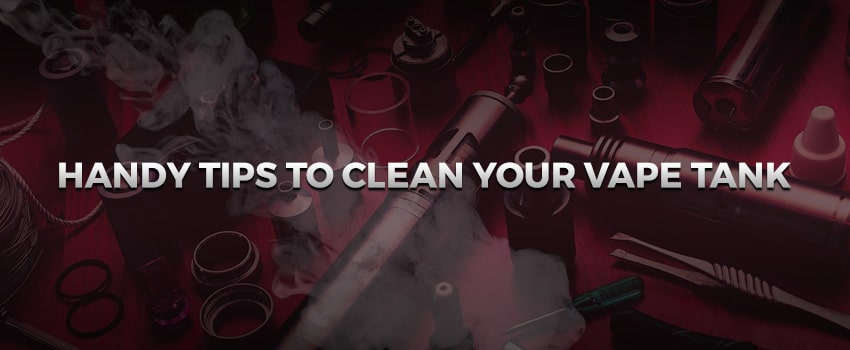 Comment nettoyer la cigarette électronique?
