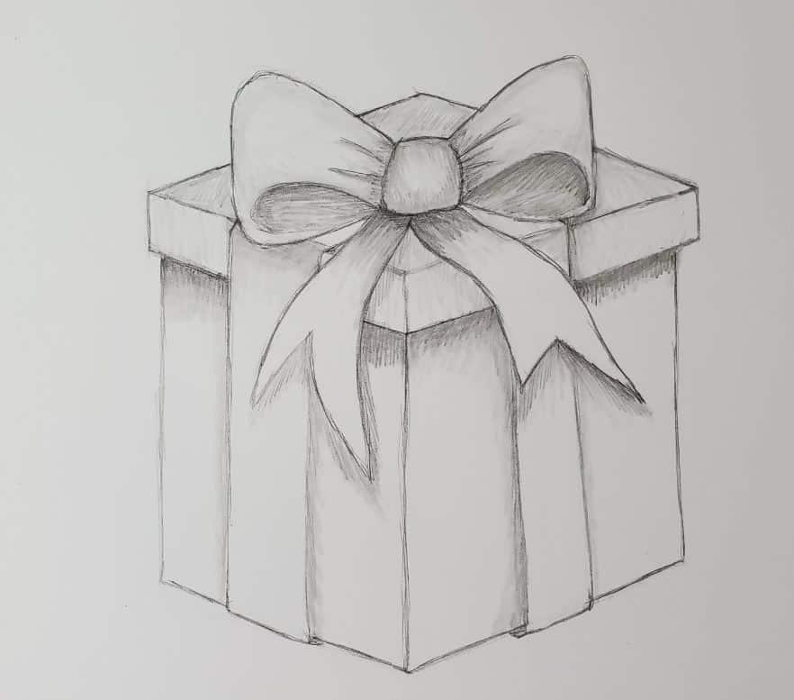 Comment dessiner un cadeau?