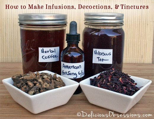 Comment ses propres infusions ?