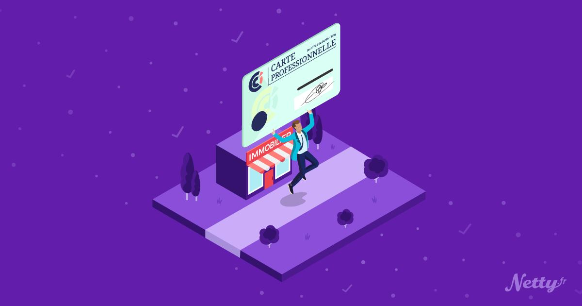 Comment obtenir la carte professionnelle transaction ?