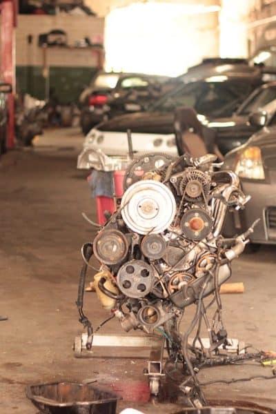 Entretien et réparations d'un véhicule