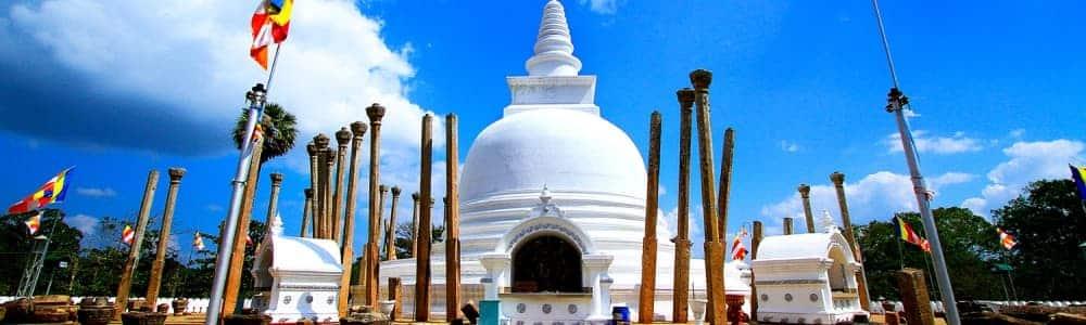 Les sites culturels dignes d'intérêt au Sri Lanka