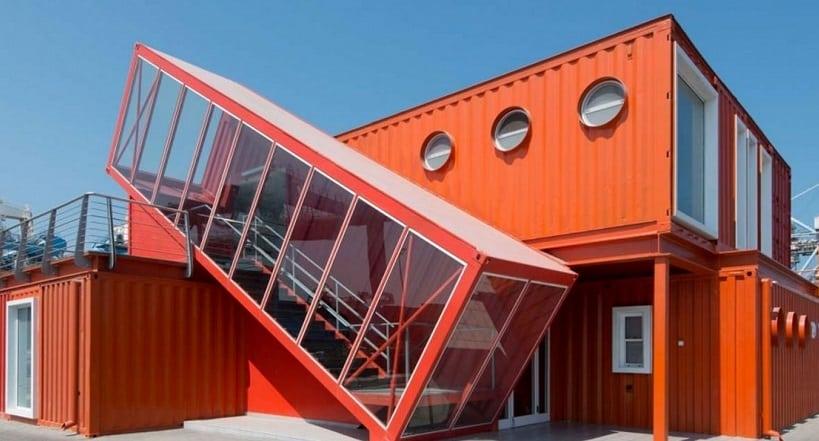 Nouvelles constructions : le container aménagé studio