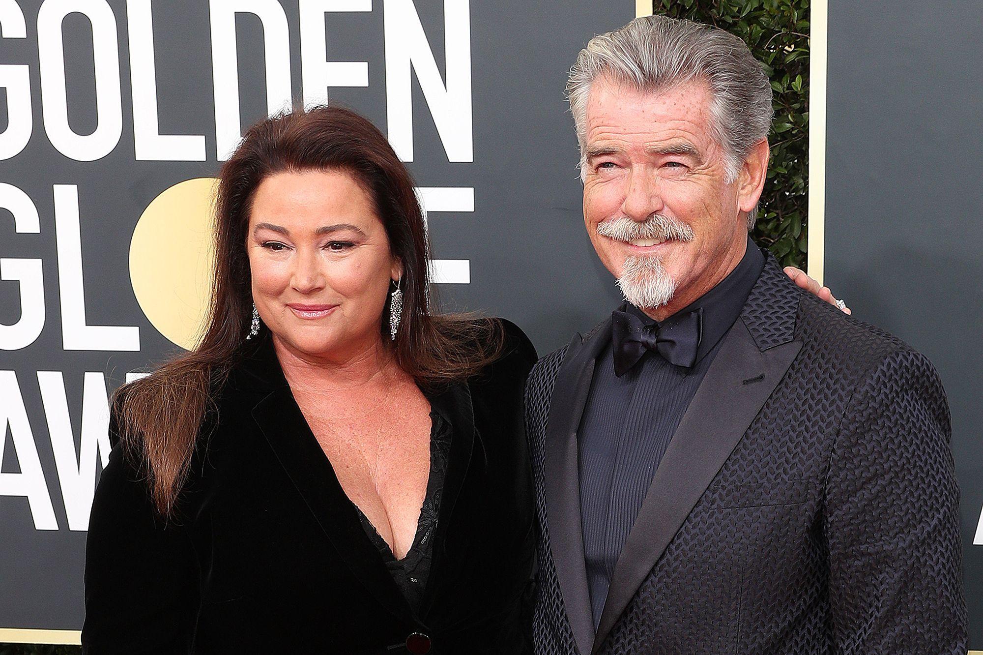 Pierce et son épouse
