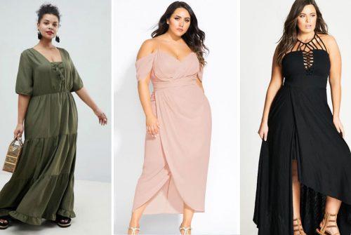 Quelle robe longue quand on est petite et ronde ?